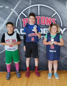 Most Improved Players from the Pistons Academy Camp in Livonia
