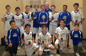Pistons Elite 7th grade Warren tourney champs 3-25-17