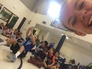 Coach Beth's Selfie-Bomb!