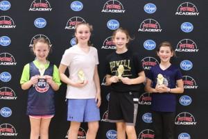 4-Ball Champs: Kylie, Morgan, Maggie & Aubrey